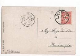 De KNijpe Grootrond Nieuwebrug (FR) - 1910 - Marcophilie