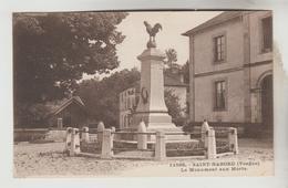 LOT 14032050 CPSM SAINT NABORD (Vosges) - Le Monument Aux Morts - Saint Nabord