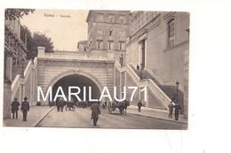 P1131 Lazio ROMA Tunnel 1920 Viaggiata - Transports