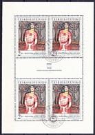 Tchécoslovaquie 1968 Mi 1796 Klb. (Yv 1645 Le Feuille), Obliteré - Czechoslovakia