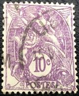 N° 233  OBLITÉRÉ ( LOT:862 ) - 1900-29 Blanc
