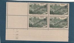 France Coin Daté Du N° 358 De 1938 ** Sans Charniere - Dated Corners