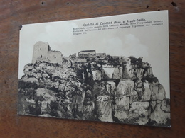 Cartolina Postale, Postcard 1930 Circa, Reggio Emilia, Castello Di Canossa - Reggio Nell'Emilia