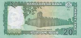Bangladesh P.55   20 Taka 2012 Unc - Bangladesh
