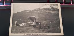 147 Une Arrivée Sur L'aérodrome Du Mont-Blanc - Aérodromes