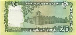 Bangladesh P.55a  20 Taka 2013 Unc - Bangladesh