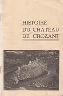 HISTOIRE DU CHATEAU DE CROZANT - Documents Historiques