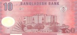 Bangladesh P.35a  10 Taka 2000 Unc - Bangladesh
