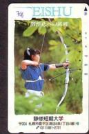 Sport - TIR À L'ARC Handboogschieten ARCHERY Bogenschießen TIRO AL ARCO Carte (768) - Sport