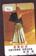 Sport - TIR À L'ARC Handboogschieten ARCHERY Bogenschießen TIRO AL ARCO Carte (776) - Sport