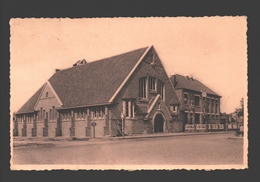 Sint-Idesbald / St-Idesbald - L'Eglise Et L'Ecole - Koksijde