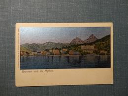 Brunnen Und Die Mythen  / Lunakarte  (3510) - SZ Schwyz