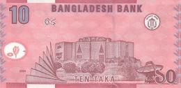 Bangladesh P.39a  10 Taka 2008 Unc - Bangladesh