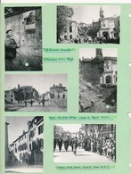 11 Photos Originales Toul Libérée 5 09 1944 F.F.I. Défilé Gendarmes WW2 Guerre - Krieg, Militär