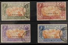 """CYRENAICA 1923 """"Propaganda Fide"""" Complete Set (Sass. S. 1, SG 1/4), Very Fine Used. (4 Stamps) For More Images, Please V - Unclassified"""