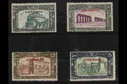 CYRENAICA 1930 Third National Defence Complete Set (Sass.S. 17, SG 66/69), Very Fine Mint, The 5L+1L50 Top Value Never H - Unclassified