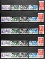 EGEO (DODECANESE ISLANDS) INDIVIDUAL ISLANDS 1930 Overprints On Ferrucci All Thirteen Complete Local Sets For The Indivi - Unclassified
