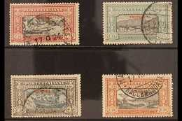 ERITREA 1924 Manzoni Set To 50c (Sass S. 14, SG 74/77) Very Fine Used. (4 Stamps) For More Images, Please Visit Http://w - Unclassified