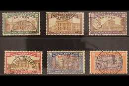ERITREA 1925 Holy Year Complete Set (Sass S. 19, SG 90/95) Very Fine Used. (6 Stamps) For More Images, Please Visit Http - Unclassified
