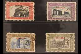 ERITREA 1929 Second National Defence Set (Sass S. 32, SG 137/40), Very Fine Used. (4 Stamps) For More Images, Please Vis - Unclassified