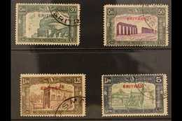 ERITREA 1930 Third National Defence Set (Sass S. 38, SG 166/69) Fine Used. (4 Stamps) For More Images, Please Visit Http - Unclassified