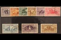 ERITREA 1930 Virgil Complete Set (Sass S. 40, SG 175/83), Very Fine Used. (9 Stamps) For More Images, Please Visit Http: - Unclassified