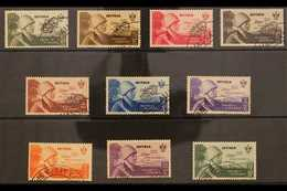 ERITREA 1934 AIR Rome-Mogadiscio Flight Complete Set (Sass S. 48, SG 228/37), Very Fine Used. (10 Stamps) For More Image - Unclassified