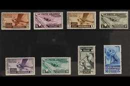 GENERAL ISSUES 1933 Fascist March Anniversary AIR Complete Set (Sass. S. 16, SG 63/70), Never Hinged Mint. (8 Stamps) Fo - Unclassified