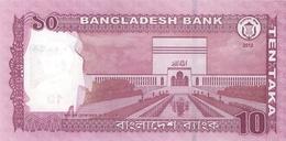 Bangladesh P.54a 10 Taka 2012 Unc - Bangladesh