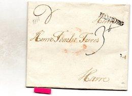 LAC Marque De Départ Hambourg (datée 31 Août 1788) - [1] ...-1849 Préphilatélie
