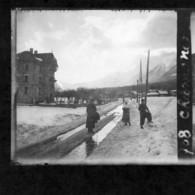 Haute-Savoie , Chamonix, Mont-Blanc Et Environs ,  Années 1934-35 - Glass Slides