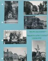 12 Photos Originales Toul Sous Occupation 1944 Pèlerinage N.D.  Guerre War WW2 - Krieg, Militär