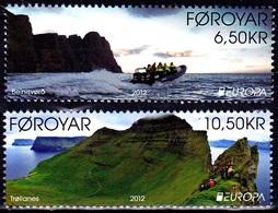 Europa Cept - 2012 - Faroer, Foroyar - (Visit) ** MNH - 2012