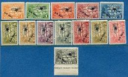 Nouvelle Guinée - New Guinea - Poste Aérienne / Air Mail -  N° 1 à 13 * - Neuf Avec Charnière - Papouasie-Nouvelle-Guinée