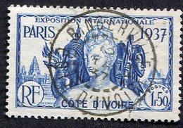 Colonie Française, Cote D'Ivoire N°138 Oblitéré, Cachet Exceptionnel - Used Stamps