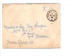 AMBULANT DE LE CROISIC A NANTES 1939 - Marcophilie (Lettres)