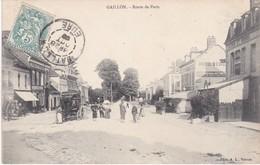 GAILLON - Route De Paris - Hôtel D'Evreux - Attelage - Animé - Francia