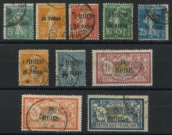 Levant (1921) N 28 A 37 (o) - Oblitérés