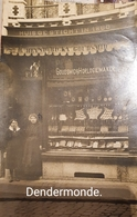 Goudsmid Heynderickx Horlogiemaker Huis Gesticht In 1860. 1913 Verstuurd Van Dendermonde Naar Borgerhout. - Dendermonde