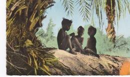 Mauritanie, Cpsm Couleur, Atar, Enfants Maures. - Mauritanie