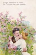 """Illustrateur-  Couple """"Aimons Inscoucients Et Joyeux Le Printemps Fait Des Heureux"""" (lot Pat 103/03) - Coppie"""