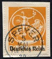 Allemagne, Weimar N°118T Oblitéré ; Bayern Michel N°136 ; Qualité Superbe - Gebraucht