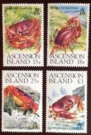 Ascension 1989 Crabs MNH - Crustáceos
