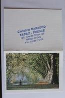 Petit Calendier 1991 Offert Par Christine Carasco Tabac Presse Lyon - Calendriers