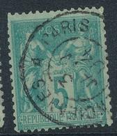 N°75 BELLE OBLITERATION. - 1876-1898 Sage (Type II)
