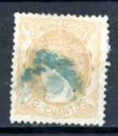 Espagne  Régence 1870     Y&T   113    Obl    ---     TB - Usati