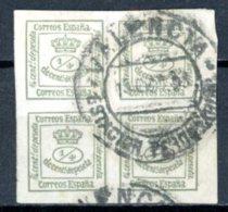 Espagne  Régence 1873     Y&T   140    Obl    ---    Superbe  --  Belle Oblitération  --   TB - 1873-74 Regentschaft