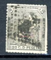 Espagne  République 1873     Y&T   133    Obl    ---     TB - Usati