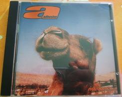 CD  PUNK - ADHESIVE / SIDEBURNER - Punk