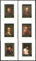 Yemen Kingdom 1967 Mi Lx 278-283B MNH ( ZS10 YMKlx278-283B ) - Rembrandt